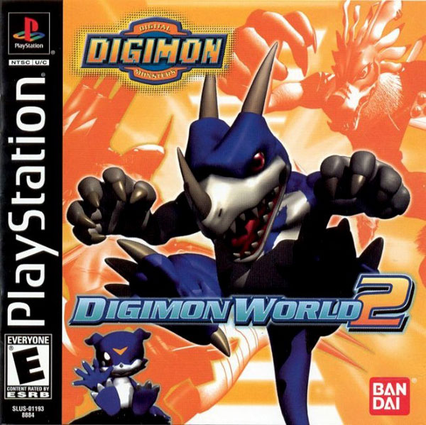 Digimon World 2 [U] Front Cover